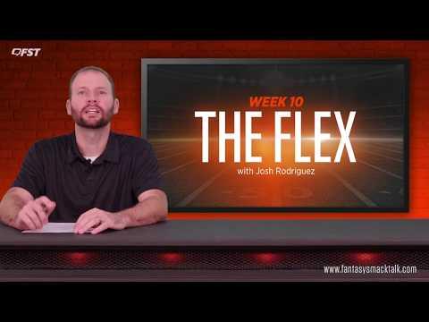 2018 Fantasy Football Week 10 - The Flex