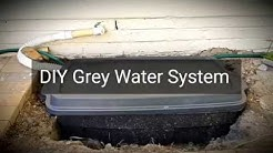 1. DIY Grey Water System with submersible pump - overview