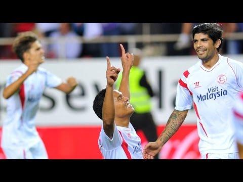FC Sevilla : Standard Lüttich 3:1 All Goals & Highlights