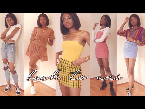a very colourful back to uni lookbook // HOT GIRL SEMESTER IS IN SESSION!
