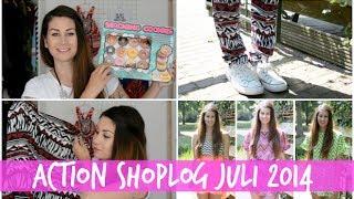Action Shoplog - Juli 2014