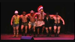 YMCA talent show nypd village people