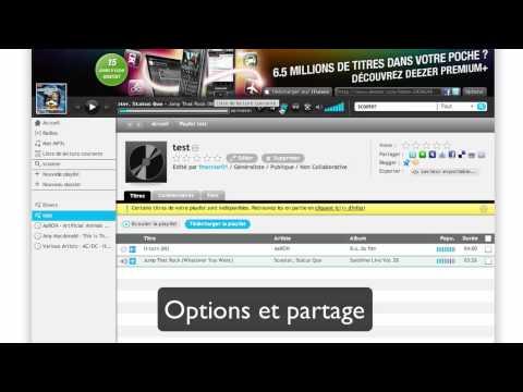 Deezer : Musique en ligne