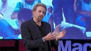 Entrepreneurial thinking can change the world: Jeremy Liddle at TEDxMacquarieUniversity