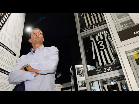 Massimiliano Allegri, il primo giorno alla Juventus - First day at Juventus