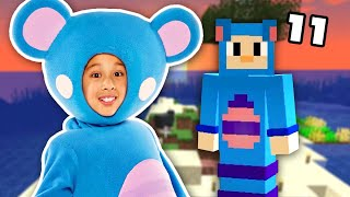 🛏️ WE'VE GOT BEDS!!! 🛏️ | Survival Island: Minecraft EP11 | Mother Goose Club Let's Play