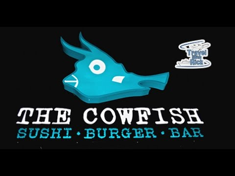 Dinner At The CowFish Sushi Burger Bar In Universal's CityWalk
