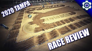 Monster Energy Supercross 3 - 2020 Tampa SX Gameplay