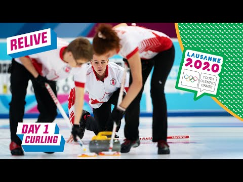 RELIVE - Curling - Round Robin Mixed Team Russia vs Canada - Day 1 | Lausanne 2020