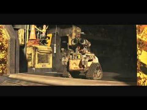 Pixar Wall E Movie Trailer Youtube