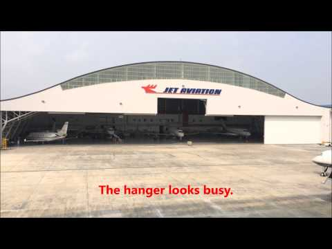 Seletar Airport Jet Aviation Singapore  Селетар 셀레 타 공항 مطار Seletar