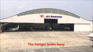 Seletar Airport Jet Aviation Singapore  Селетар 셀레 타 공항 مطار Seletar