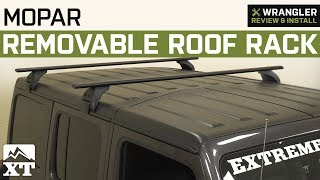 Jeep Wrangler JL Mopar Removable Roof Rack (2018) Review & Install