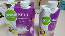 DITL , keto Publix haul and NEW ZONE PERFECT shake review