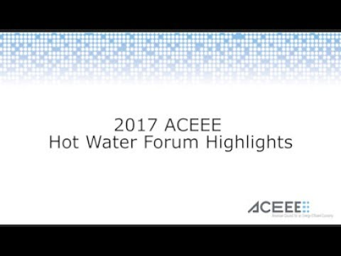 ACEEE's Hot Water Forum Conference