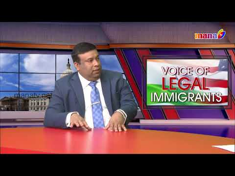 Voice of legal immigrants Only On USA's#1 Channel Mana TV