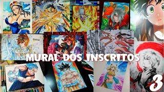 Mural dos Inscritos | Wall of Subscribers 3