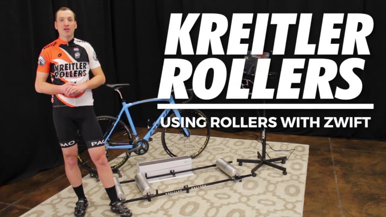 Kreitler Rollers - Using Rollers with Zwift by Kreitler