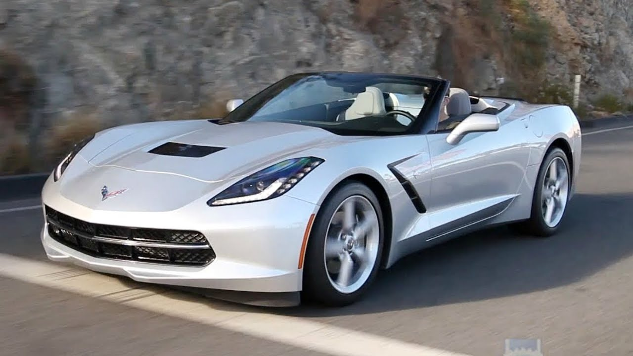 2016 Chevy Corvette Stingray Convertible - Review and Road ...