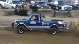 Truck Pull -Showroom & Street Legal- Westmoreland County Fair 2016