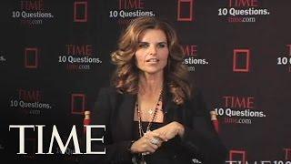 TIME Interviews Maria Shriver
