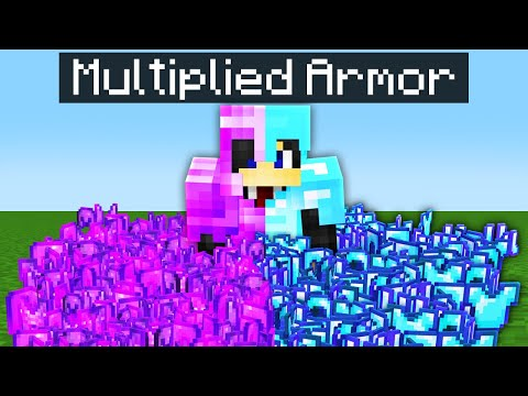 Minecraft, If You Could Multiply Armor...