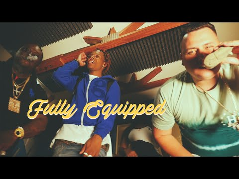 """RICH THE KID, BOUJI, SWERVE B - """"FULLY EQUIPPED"""" (IN STUDIO PERFORMANCE)"""
