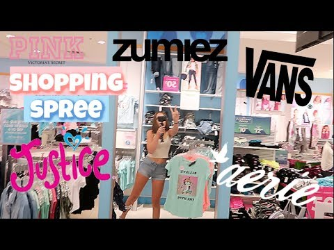 Shopping Spree at the Mall   Mall Vlog + Clothing Try On