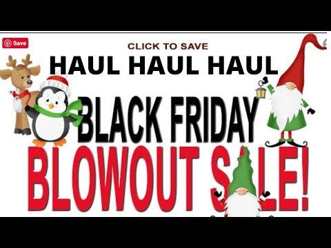 Cottage Cutz Haul-Black Friday Sales