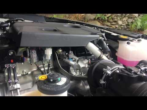 Фото к видео: 2017 Toyota Hilux/Revo mk8 2.4 2GD-FTV VNT turbo diesel engine start up + rev sound