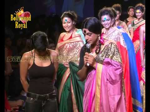 'Guthi' of 'Comedy Nights With Kapil Sharma'Fame Walks Ramp Mandira Bedi at ...