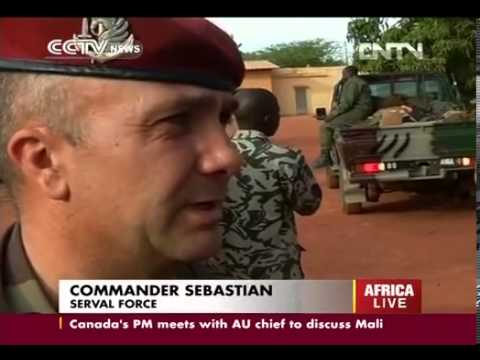 French Army Operation Serval Foreign forces make more advances in Mali CCTV News