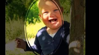 Видео коллаж из детских фотографий