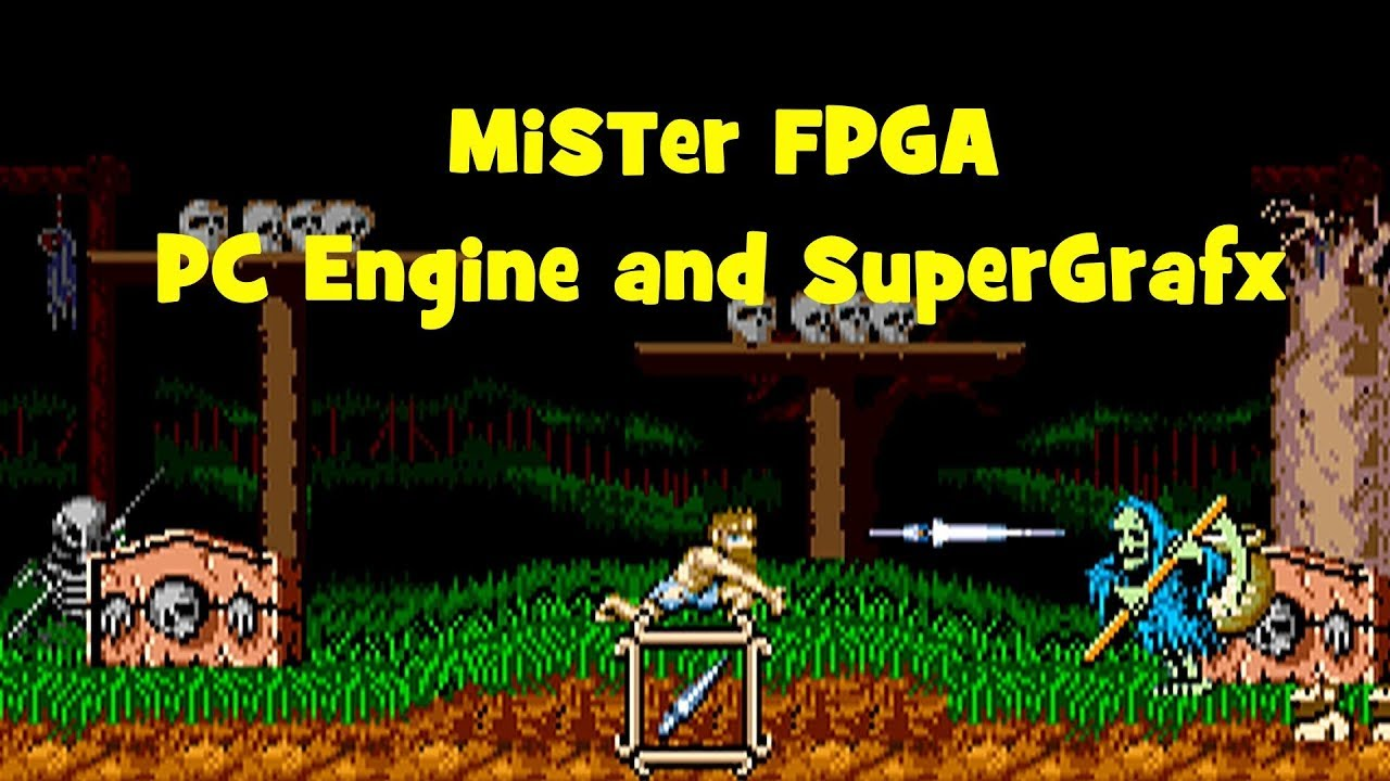 MiSTer FPGA PC Engine and Supergrafx gameplay! by Todd's Nerd Cave