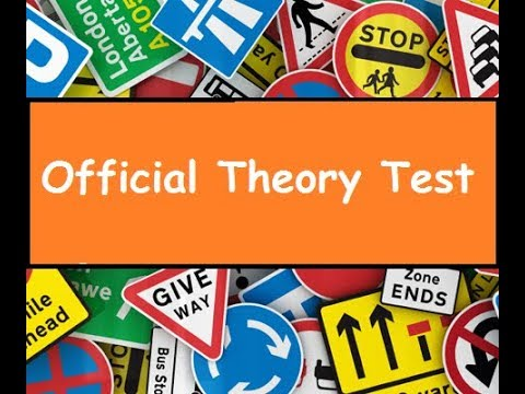 (Topic Attitude) 50 Questions - Official Driving Theory Test