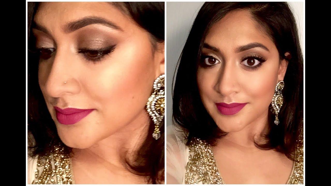 Indian Wedding Makeup : Bronze Smokey Eyes : Brown Girl ...