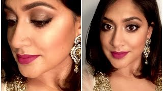 Indian Wedding Makeup | Bronze Smokey Eyes | Brown Girl Magazine