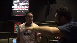 Check Out Jessice Rosales & Beto Duran Golden Boy Radio EsNews Boxing