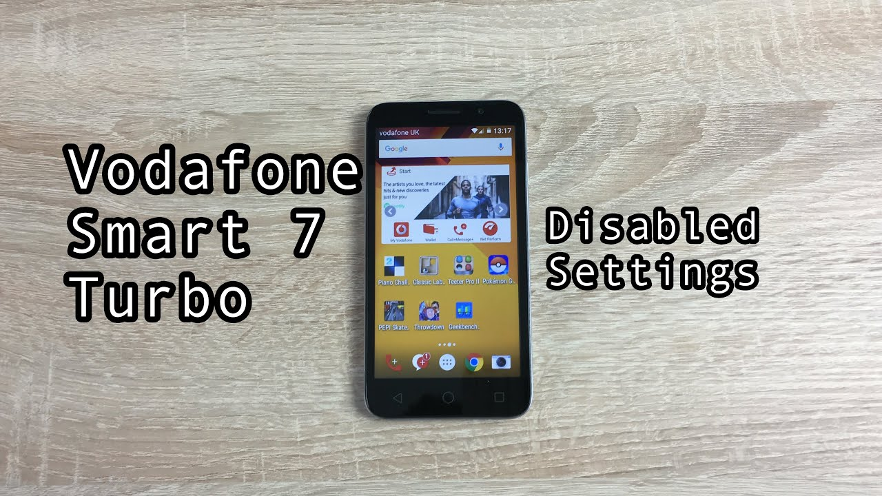 Vodafone smart 7 turbo disabled settings youtube vodafone smart 7 turbo disabled settings ccuart Images
