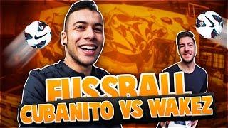 Fussball challenge cubanito vs wakez inkl bestrafung!