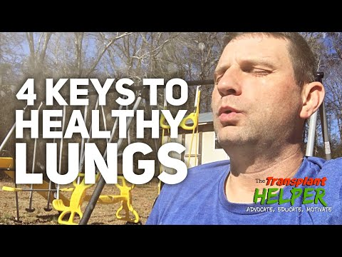 Cleanse Your Lungs- 4 Keys To Better Lung Health