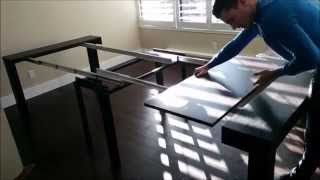 Tiny Titan Massive 14 Seat Dining Table Hides As Tiny Console | Expand Furniture