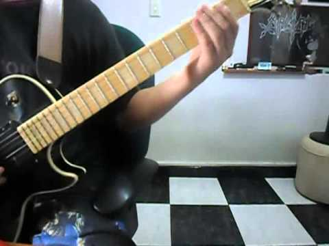 Benediction / The Grotesque (Guitar Cover)