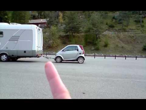 Creative Camping Car Smart Cabriolet Remorque Tracte Projestes