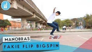 Como mandar Fakie Flip bigspin | sobreskate