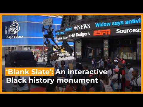 The Blank Slate Monument: A statue with an ever-changing message | Newsfeed