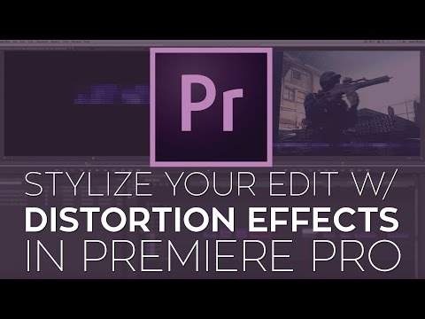 Glitches, damage, flickers, & distortions in After Effects