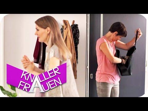 Knallerfrauen mit Martina Hill | Frauen und Handtaschen [subtitled]
