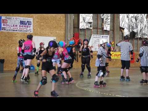Rotten Grapes vs Pixies B Team / Jr. Roller Derby