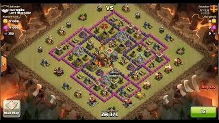 Clash of Clans TH10 vs TH10 [Premature] Golem, Wizard & Witch (GoWiWi) Clan War 3 Star Attack